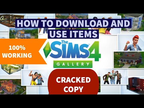 How to Access Gallery in The Sims 4 CRACKED or PIRATED COPY