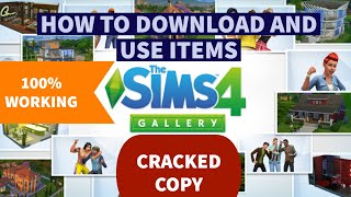 How to Access Gallery in The Sims 4 CRACKED or PIRATED COPY Solution (100%  Working Guarantee)