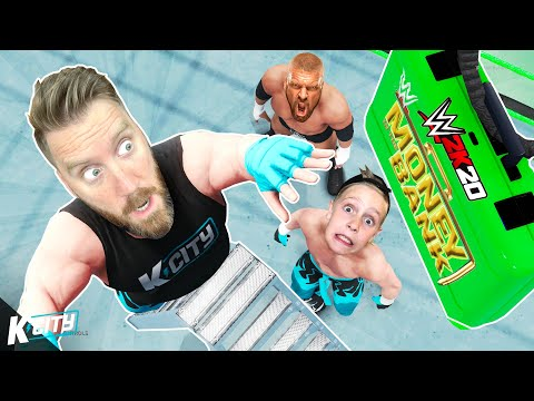 Money In The Bank WWE 2k20 MAIN EVENT (K-City Vs DX Vs Natural Disasters!)