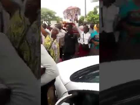 """"""" Kamto President """" """" kamto freed """" today at the palace of justice of yaoundé"""