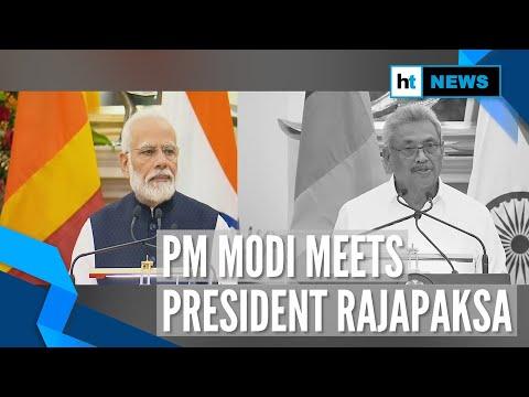 PM Modi & Sri Lankan president discuss security & counter terrorism
