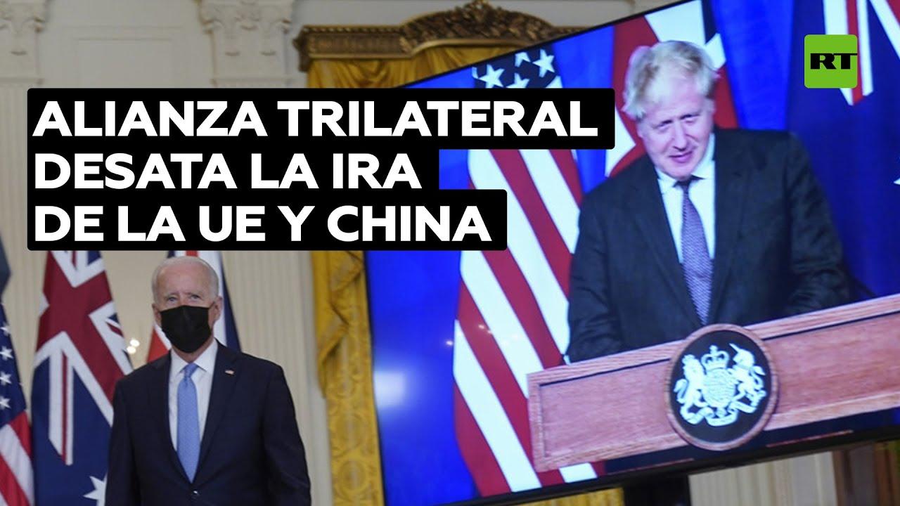 Download El nuevo pacto entre EE.UU., Reino Unido y Australia indigna a la UE y a China