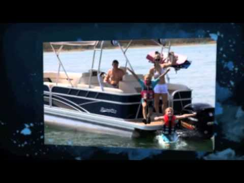 2013 Silver Wave Pontoons, Island Series Boat Show Video