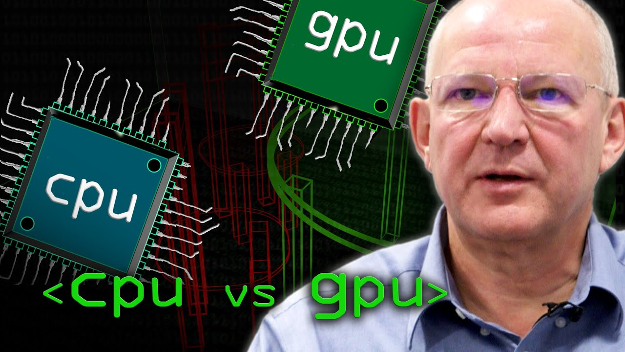 CPU vs GPU (What's the Difference?) - Computerphile - YouTube