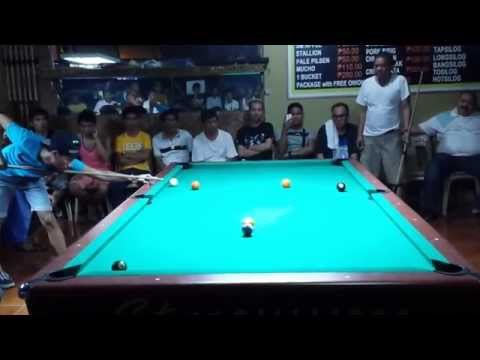 "Dodong Diamond Vs Efren ""Bata"" Reyes (Tanza,Cavite) Part 1"