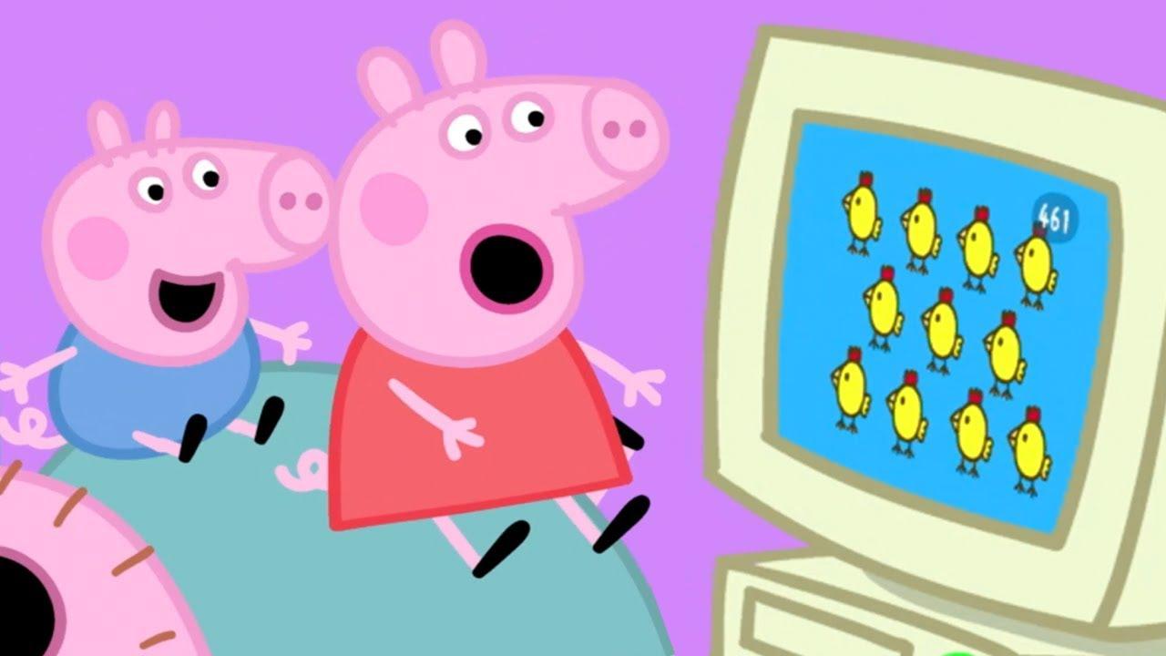 Peppa pig italiano peppa pig e il pollo felice 🐣 cartoni