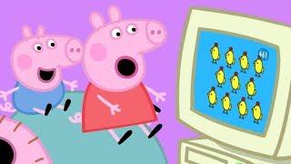 Peppa Pig Italiano - Peppa Pig e il pollo felice 🐣 | Cartoni Animati