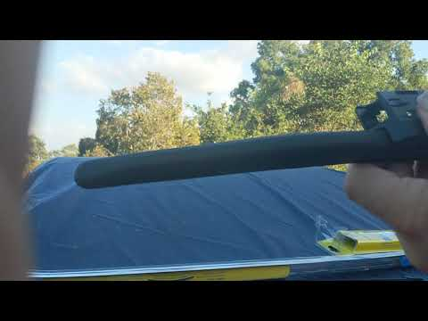 Remove and Replace Costco Michelin Guardian Wiper Blades Volkswagen VW Golf Sportwagen Golf Alltrack