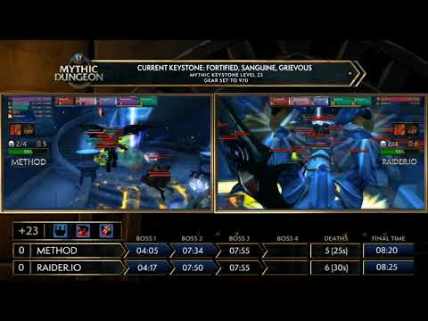 Europe Semi Finals - MDI Mythic Dungeon Invitational 2018! Method vs Raider!