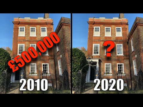 Do House Prices Double Every 10 Years?