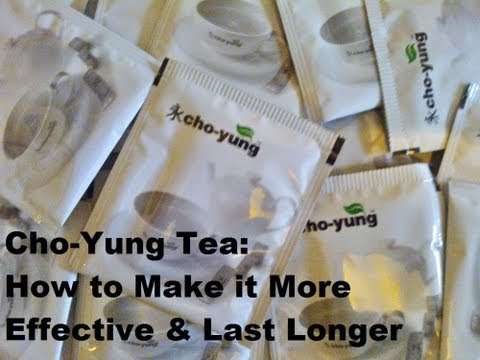 Cho-Yung Tea: How to Make it More Effective & Last Longer