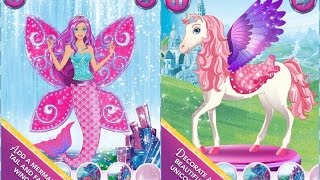 Barbie Magical Fashion Dress Up Part 1 - Top App Demo For Kids - Ellie