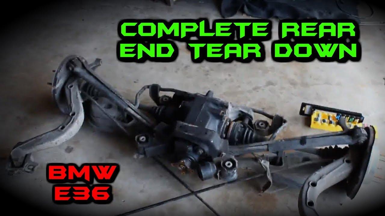 bmw e36 complete tear