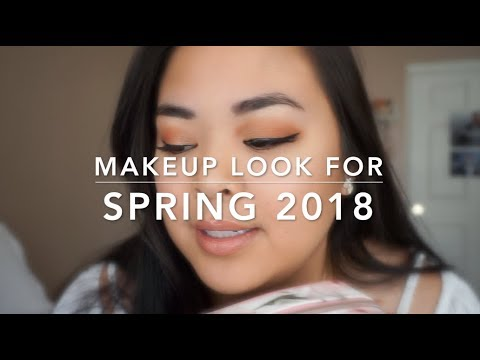 Spring Inspired Makeup Tutorial ft. @itsjudytime 's Floral Makeup Bag (kekekristen) thumbnail