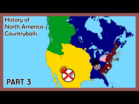 History of North America (Countryballs) - Part 3 - American Revolution