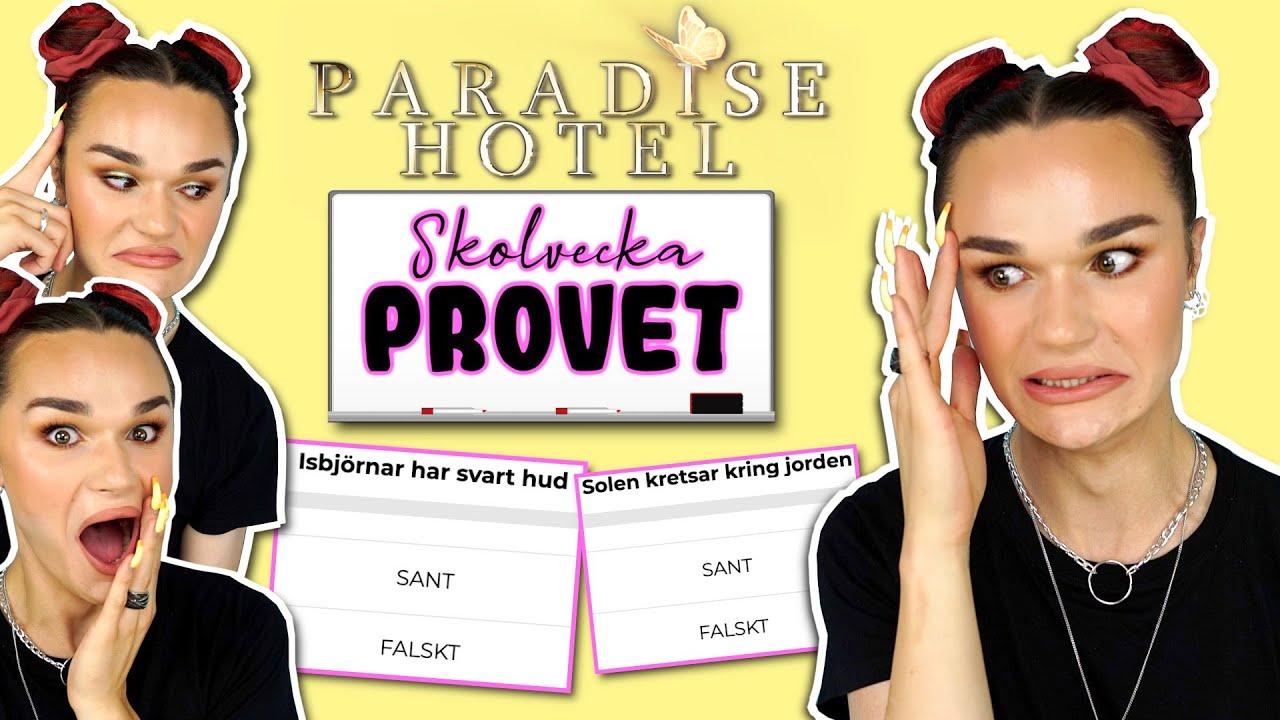Är jag smartare än en Paradise Hotel deltagare?