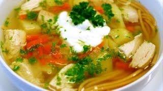 Chicken Noodle Soup Recipe (low Fat)