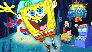 Çocuklar HD Spongebob Squarepants - Zaman içinde Questpants 2 Misyon - Komik Çizgi film Oyunları