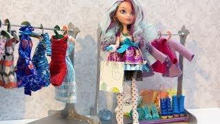 Как сделать вешалку для кукольной одежды. How to make hanger.