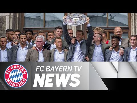 Bayern's title celebrations in Munich, special praise for Jupp Heynckes