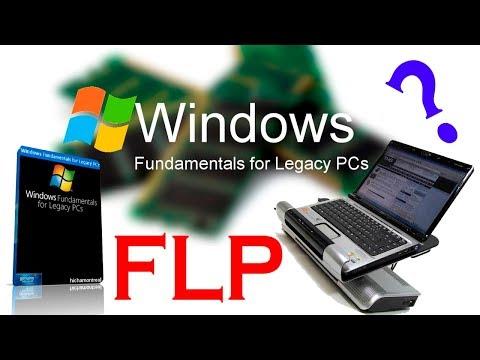 Установка Windows Fundamentals For Legacy PCs на старый ноутбук