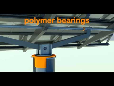 Bearings for solar technology