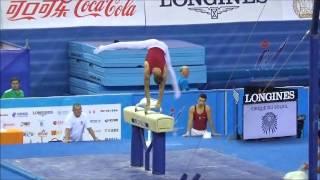 第45回世界体操競技選手権大会 男子ポディウム練習2日目