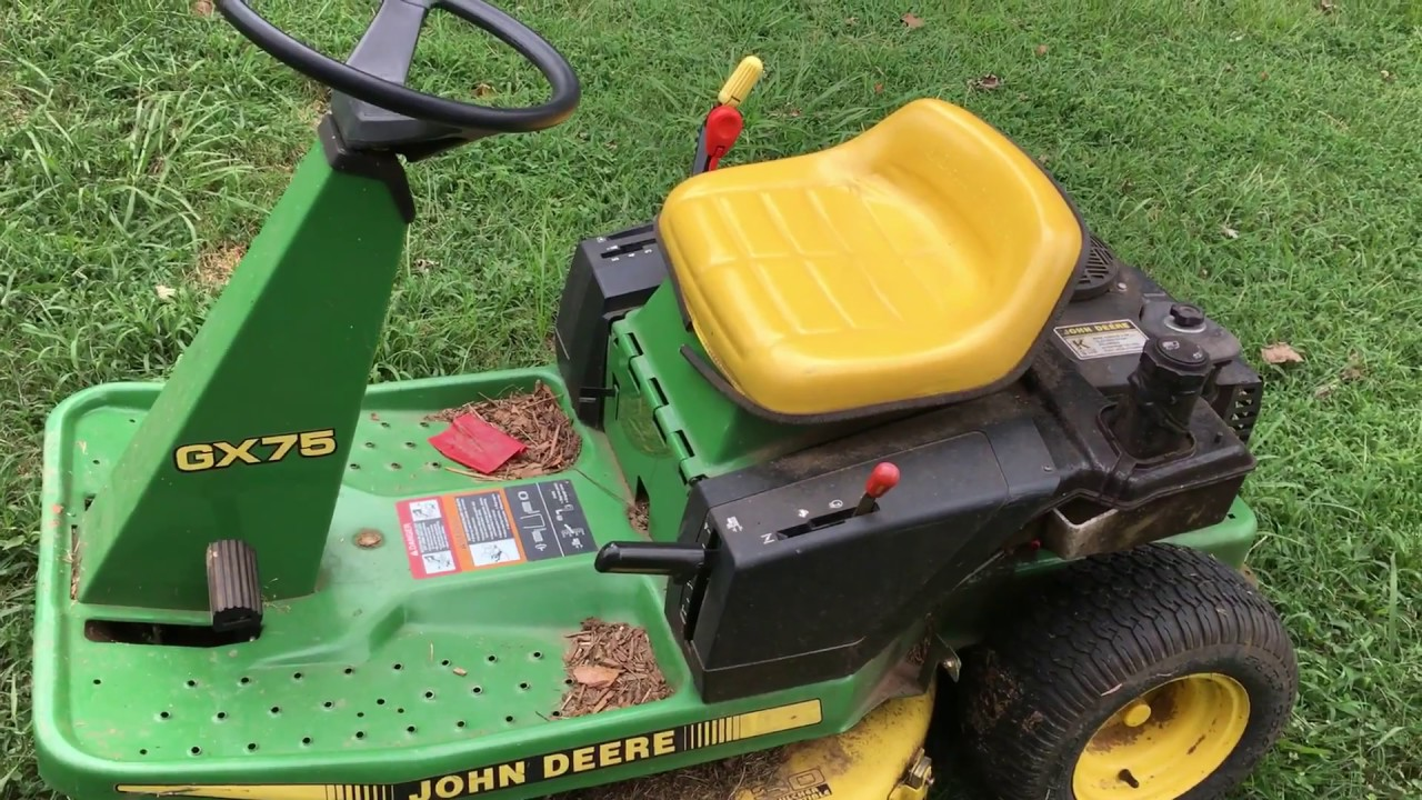 medium resolution of john deere gx75 safety switch replacement