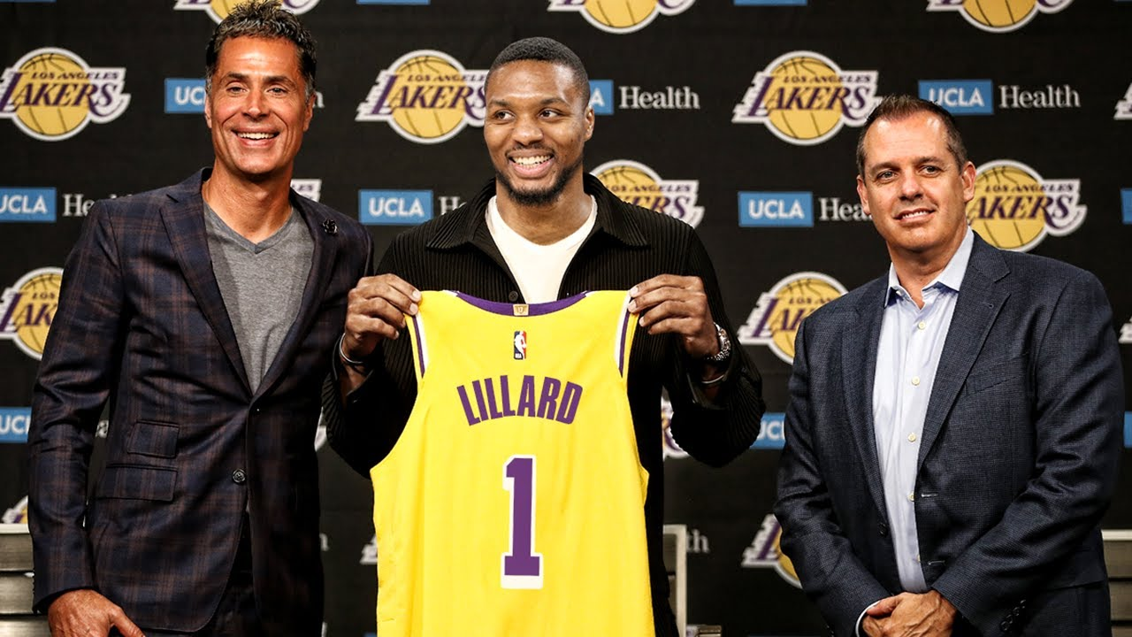 Damian Lillard Trade To Lakers - Joining LeBron James & Anthony Davis
