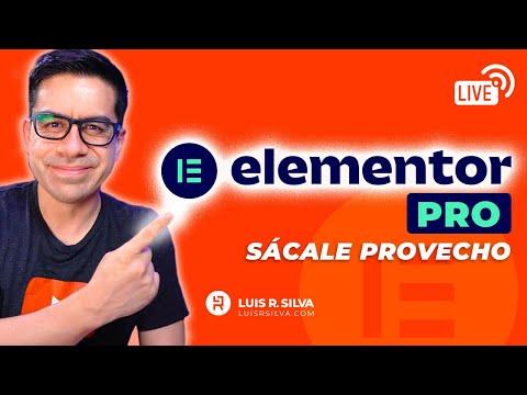 Elementor Pro: todas las funciones que debes conocer ▶︎ Comparación con Elementor Gratis◀︎