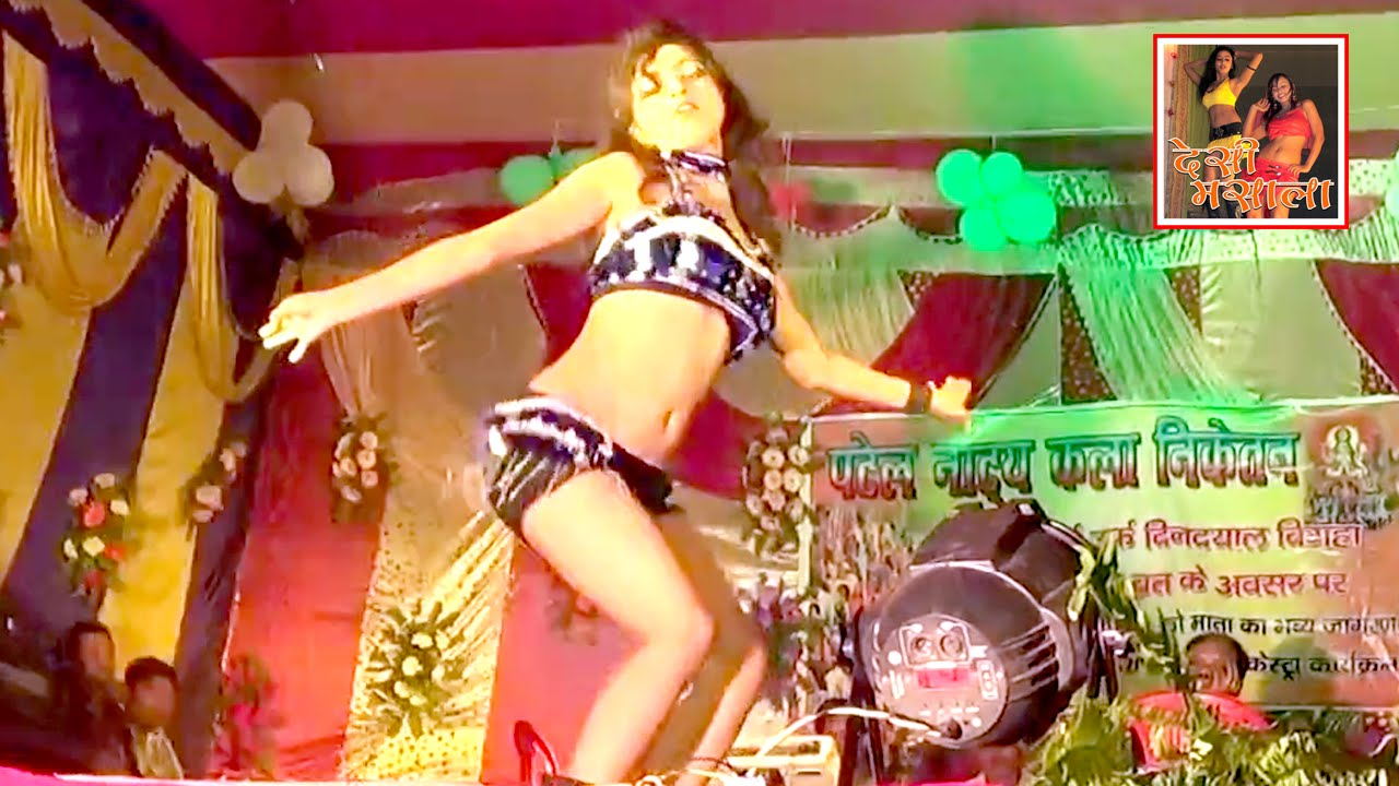Sexy Bar Dancer In Bihar Stage Arkestra Dance Show