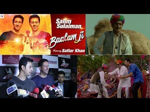 Holi Special Song 2018 by Salim - Sulaiman || Baalam Ji || Sattar Khan ||