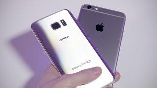 Samsung Galaxy S7 vs iPhone 6s Speed Test!
