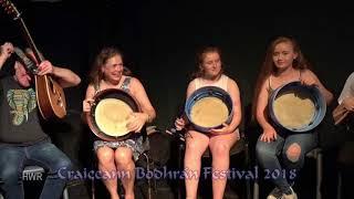 Masterclass Group Performance with Dónal Lunny, Craiceann Bodhrán Festival 2018