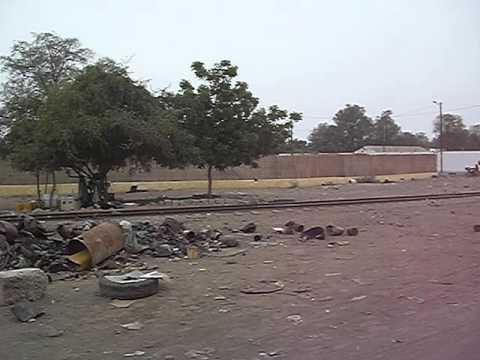 Djibouti, Africa - coming to khot corner, where everyone gets high