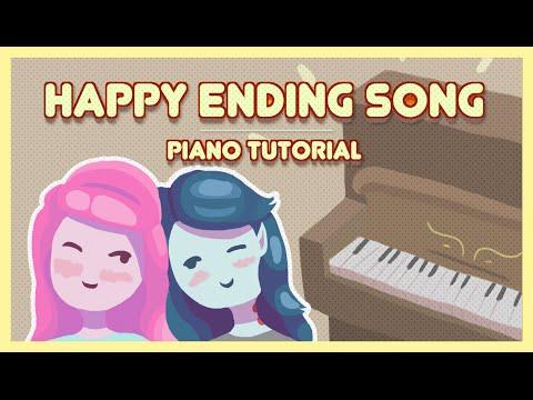 Happy Ending Song  PIANO TUTORIAL
