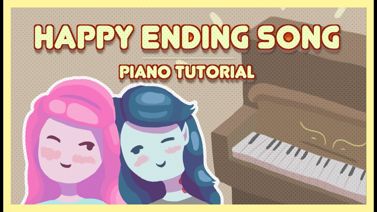 Happy ending song piano tutorial youtube happy ending song piano tutorial hexwebz Images