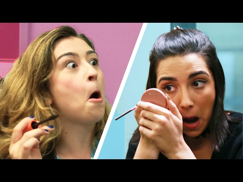 Thumbnail: Subway Makeup Challenge