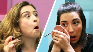 Repeat youtube video Subway Makeup Challenge