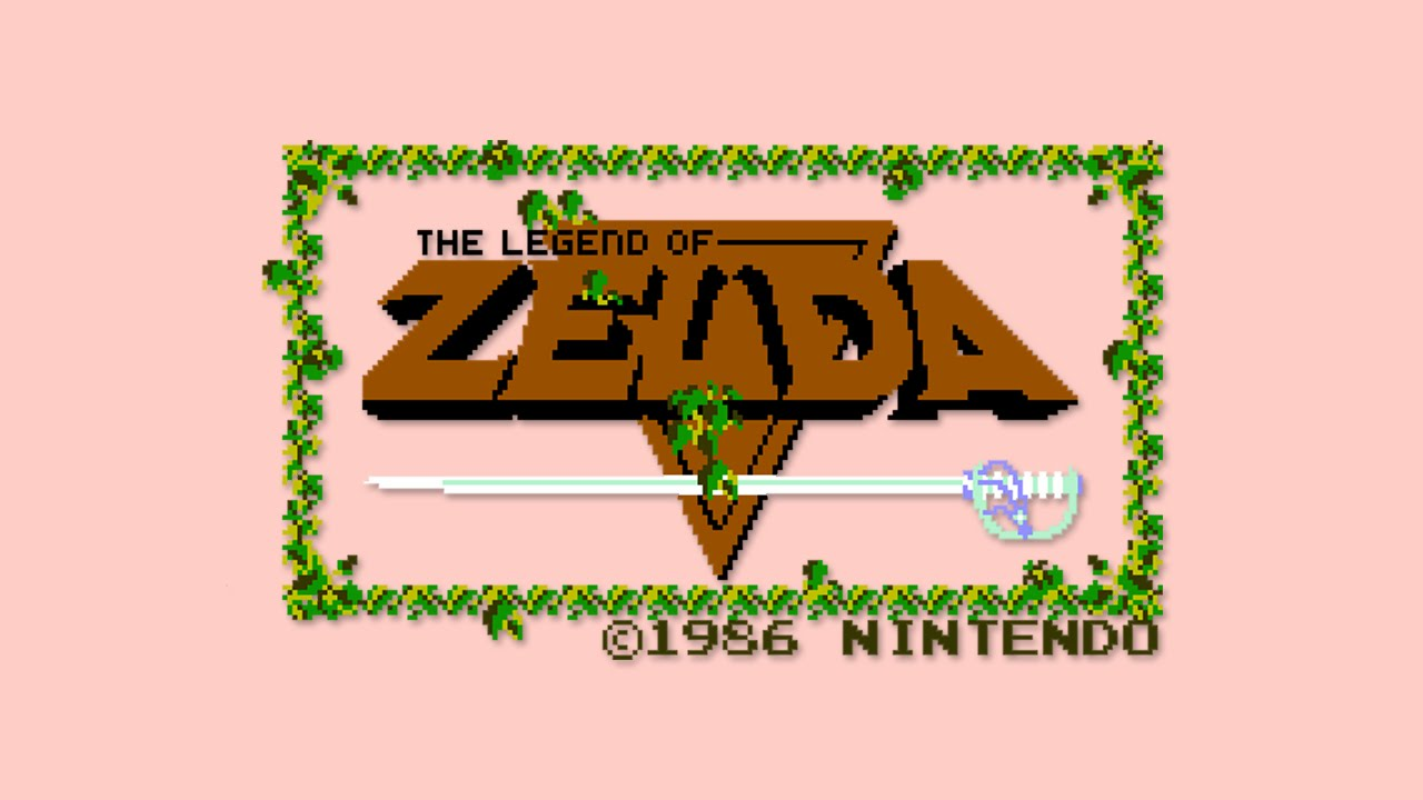 The Legend of Zelda 1986 Nes - Quality Upgrade
