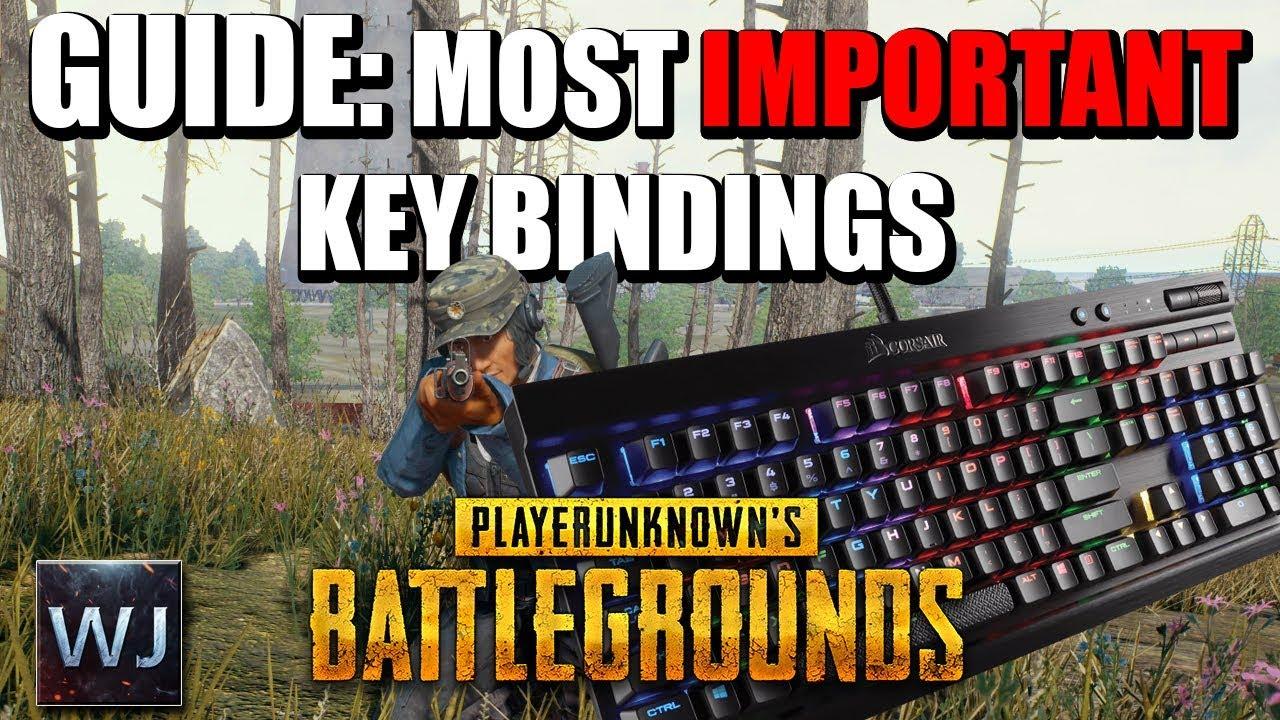 PUBG: Best keybinds, hotkeys and keyboard layout guide