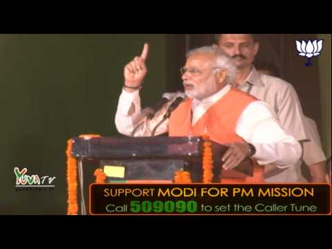 Shri Narendra Modi addresses Bharat Vijay Rally at Shastri Park, Delhi - 26th March 2014