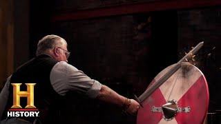 Forged in Fire: Viking Sword RAIDS the Final Round *BERSERKER BLADE ACTION* (Season 3)   History