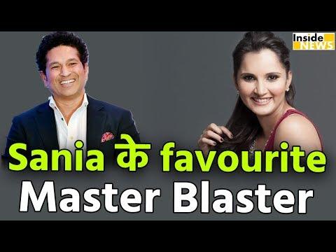 Master Blaster हैं Sania Mirza के Favourite Cricketer, Virat को बताया Champion