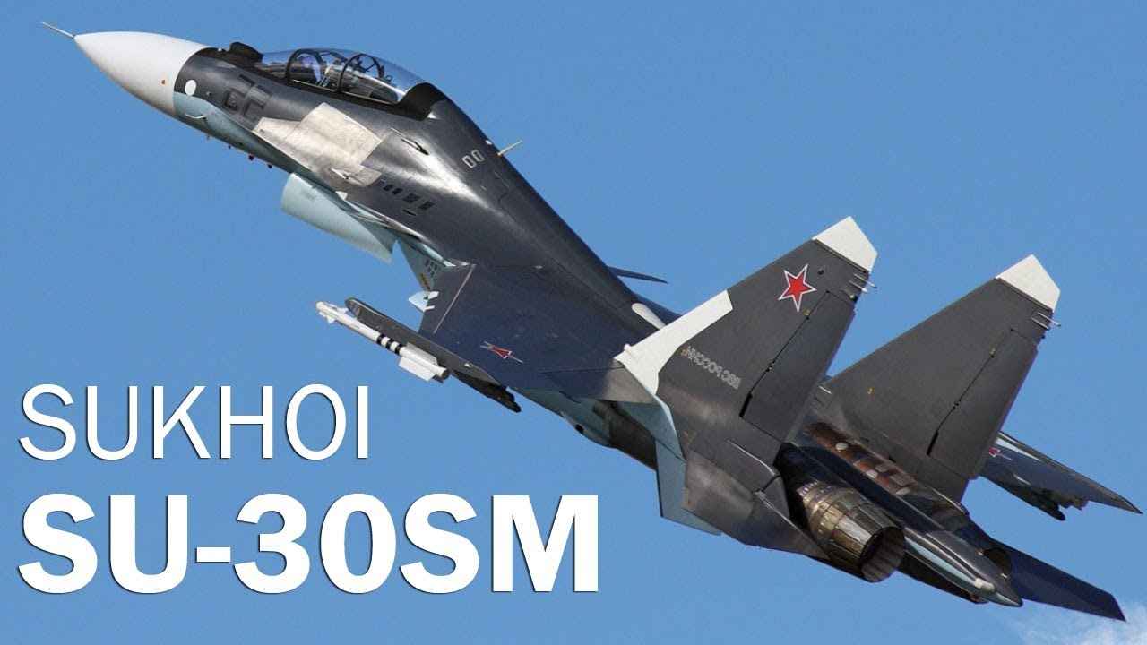 Su-30SM - Russian flying spear - YouTube