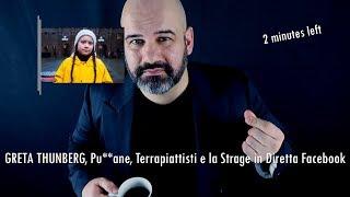 GRETA THUNBERG, Pu**ane, Terrapiattisti e la Strage in Diretta Facebook