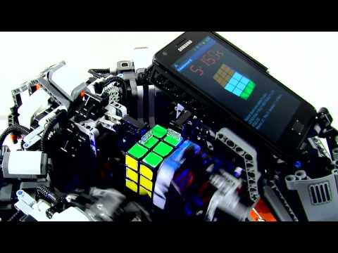 רובוט פותר קוביה הונגרית