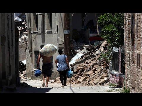 Lesbos nach dem Erdbeben: 80% von Vrisa sind nur noch Trümmer