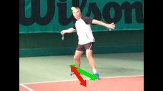 Dealing With High Balls On Your Forehand