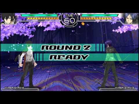 Katekyo Hitman Reborn! Battle Arena 2 - Mukuro Vs Hibari [PSP]